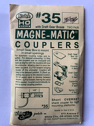 Kadee - Magne-Matic Couplers #35