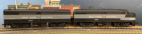 NEW YORK CENTRAL - FA1 & FB1 Units DC