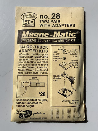 Kadee - Magne-Matic Couplers #28 - Talgo-Truck Adaptor Kit