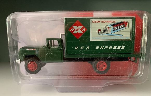Rail Express Agency - Ford F600  Box Delivery Truck - Mini Metals