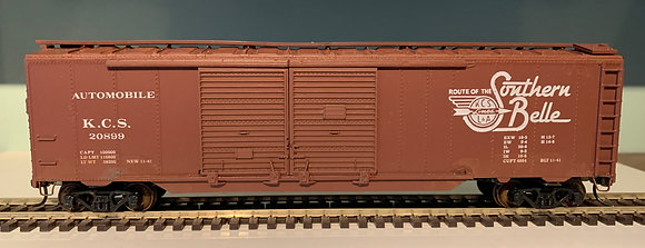 "KCS ""Southern Belle"" - 50ft  Automobile Box Car - HO"