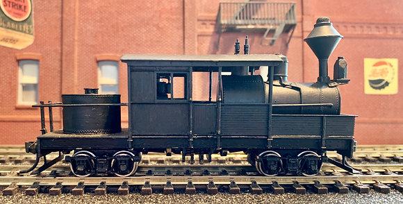 Logging -  Class A Climax Horizontal Boiler  - Brass HO.