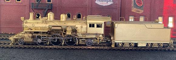 AT&SF  2-6-2  Prairie Class 1050  Brass  - HO