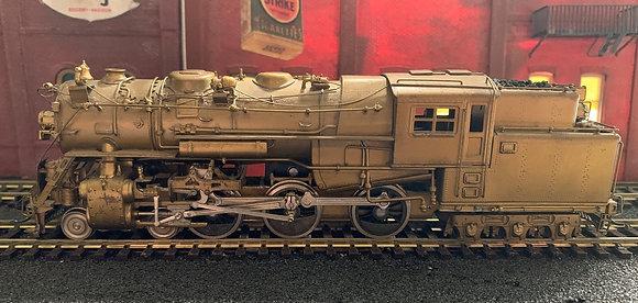 BOSTON & ALBANY 4-6-6T Class D1a -  Brass  HO