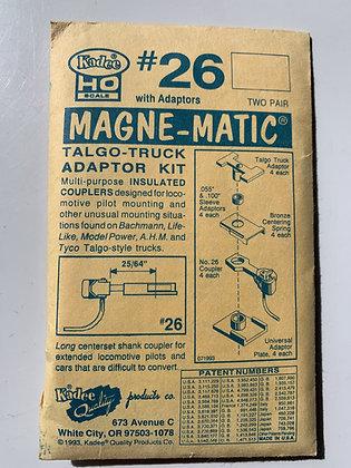 Kadee - Magne-Matic Couplers #26 - Talgo-Truck adaptor kit
