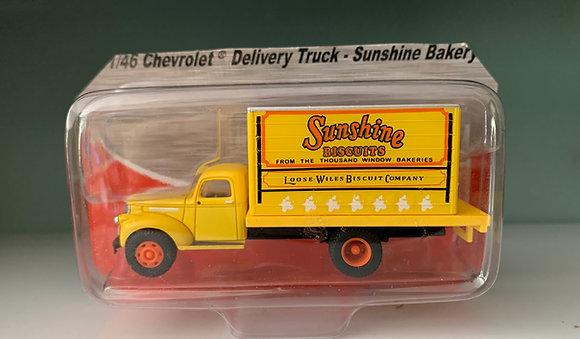 Sunshine Biscuits - Chevrolet 41/46 Delivery Truck - Mini Metals