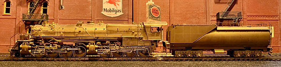 Great Northern N-3  2-8-8-0 with Vanderbilt Tender - Brass HO