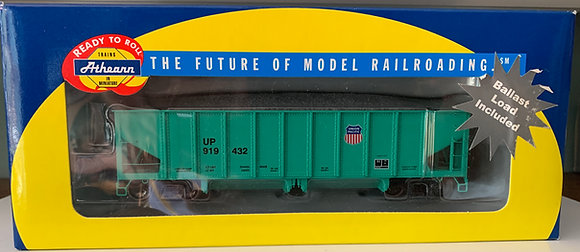 Union Pacific  40' Off set Ballast Car - Athearn  95722  HO NIB