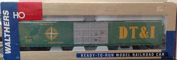 DT&I 86' Pullman Standard Hi-Cube 4 Door Box Car - Walthers