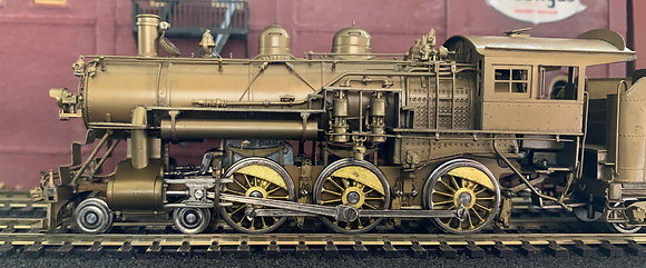 Chicago & North Western 4-6-0 Class R1  - Brass HO