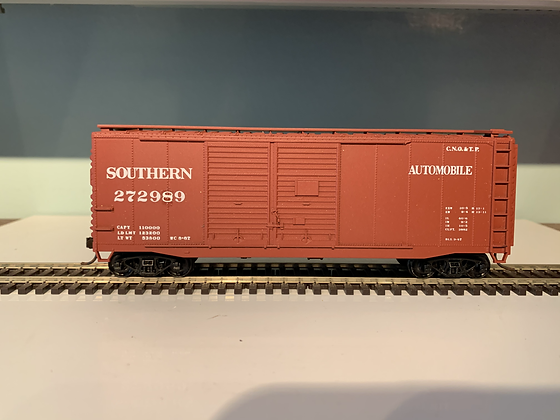 SOUTHERN PACIFIC - 40ft Dble Door Automobile  Box Car - HO