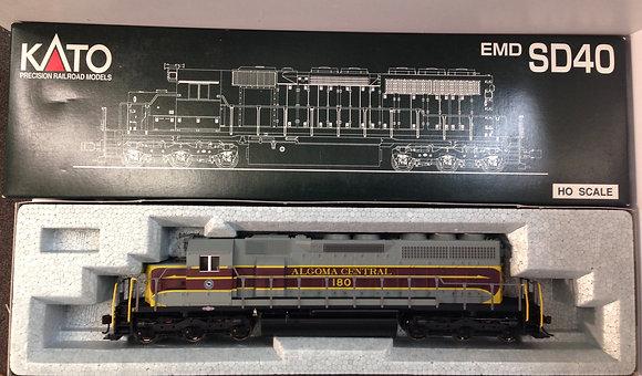 Algoma Central EMD SD40 #180 - Kato 37-6321 DC / DCR