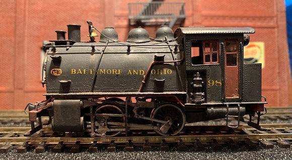 Baltimore & Ohio Dockside Switcher 0-4-0T - Brass HO