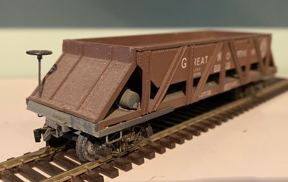 Great Northern -  Ballast Car - Weathered - HO