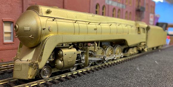 NORFOLK & WESTERN 4-8-4  Streamlined Class J -  Brass HO