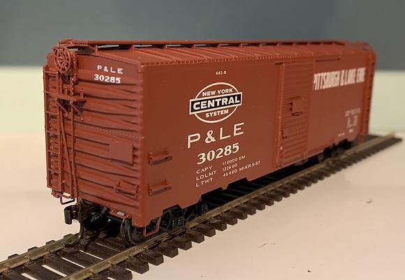 Pittsburgh & Lake Erie - 40ft  AAR Metal Box Car - HO