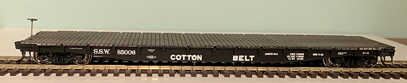COTTON BELT - 50ft FLAT CAR  - HO
