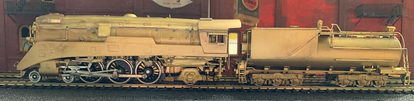 Southern Pacific 4-6-2 - P10 Streamliner  HO Brass