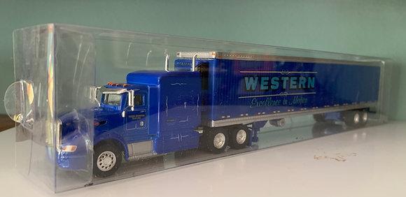 Western Distribution - Peterbilt 386 - 53' Refer Trailer HO