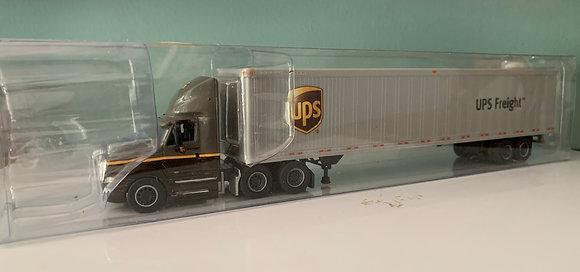 UPS Freight - International Prostar + 53' Dry Van Trailer HO