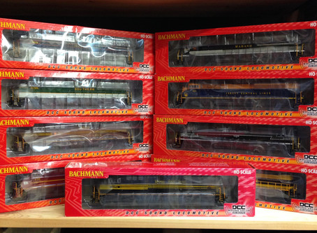DCC & Sound -  UP Centennials, N&S Heritage locos, plus others and wagons arrive, all new in