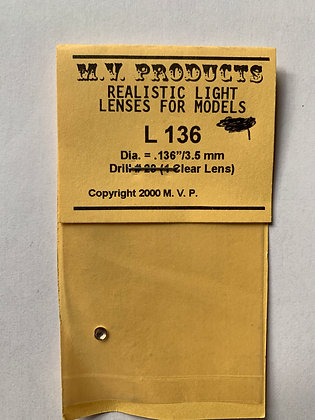 Clear Light Lense - L136 by MV Products
