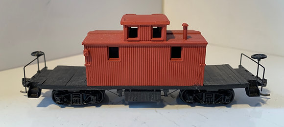 Wooden Caboose  - Transfer ? - No Markings. - HO