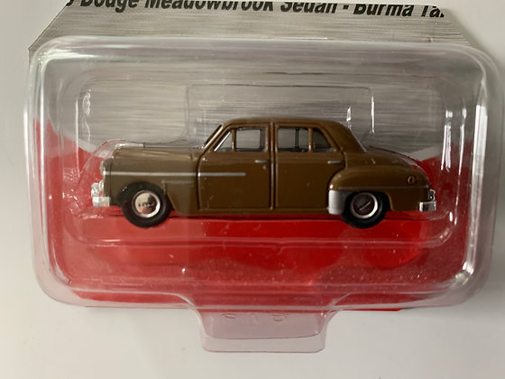 Dodge Meadowline  Sedan - Mini Metals 30247