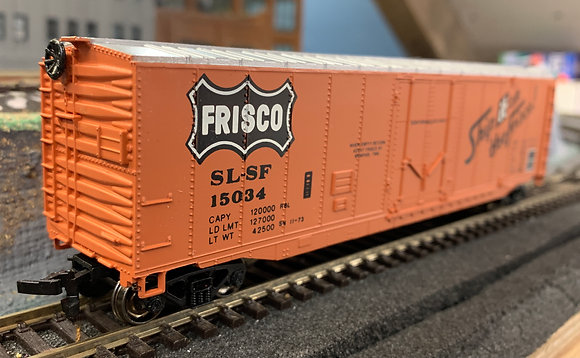 FRISCO- 50ft  Plug Door Box  Car  -  HO