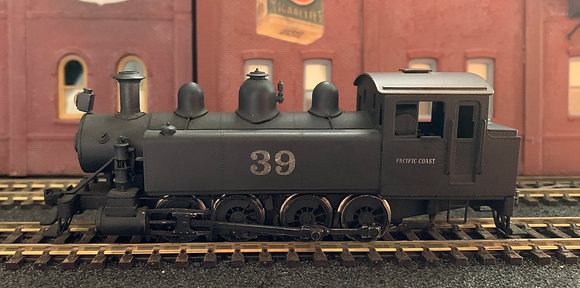 Baldwin 0-8-0T  Side tank locomotive -  SP / Pennsy Brass HO