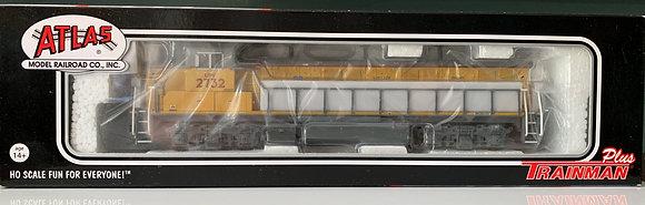 Union Pacific -  NRE Genset   # 2732  HO scale - DC + DCC Sound decoder