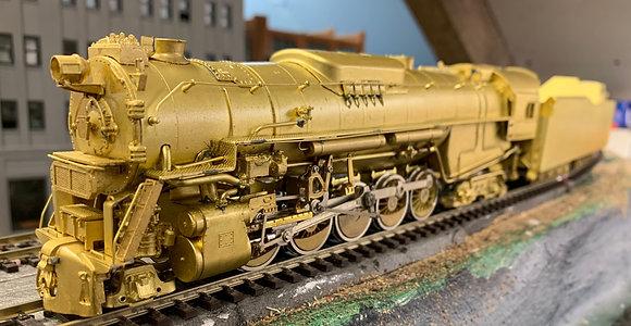 Pennsylvania  2-10-4 J-1a   - Sunset Models -  Brass  HO