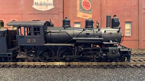 Texas & Pacific Railway - 4-6-0 D8 #23   Brass -