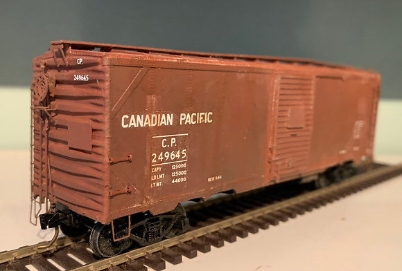 CANADIAN PACIFIC - 40ft Steel Box Car  - HO