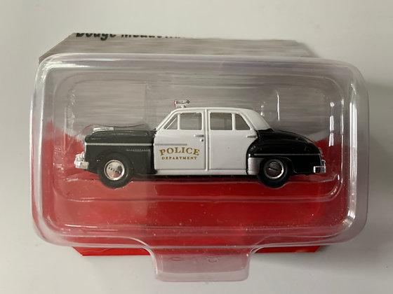 Police - Dodge Meadowbrook Sedan - Mini Metals 30246