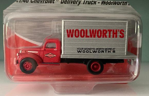 Woolworths - Chevrolet  41/46 Box Truck  - Mini Metals