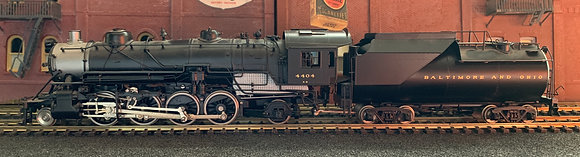 BALTIMORE & OHIO  Q4  2-8-2 Mikado  HO Brass by PSC