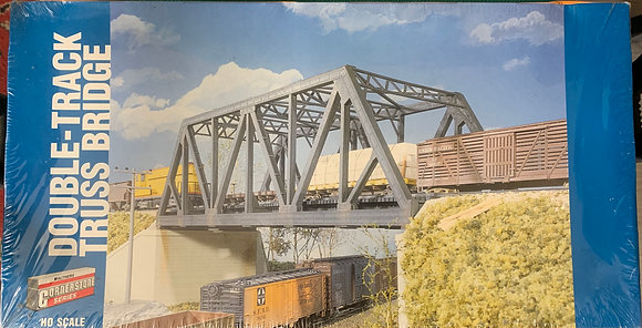 Double Tracked Truss Bridge  - Walthers 933-3012 - HO - Kit