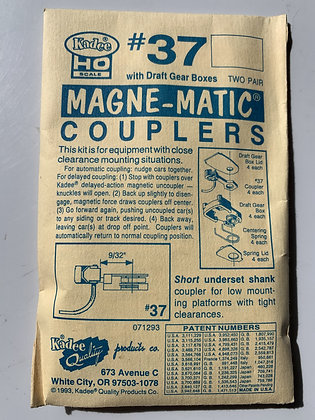 Kadee - Magne-Matic Couplers #37