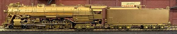 MISSOURI PACIFIC Class 2200 4-8-4  Northern   Brass HO