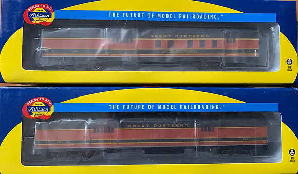 6 x Great Northern Heavy Weight Cars - NISB Athearn HO