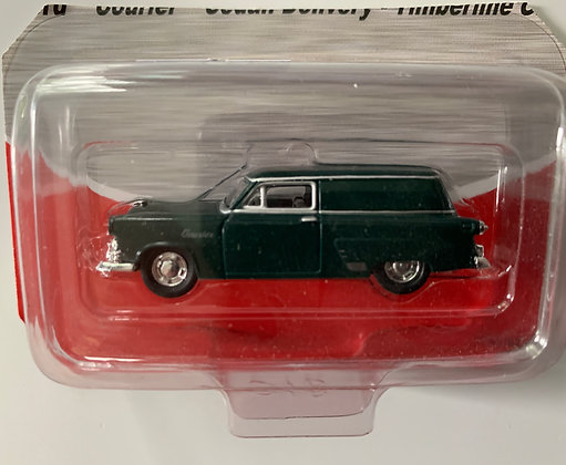 Timberland Green - Ford Courier Delivery Sedan  - Mini Metals