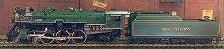 Southern Railway - PS-4  4-6-2 #1501 W/Walscherts VG  Brass  HO  Precision Scale
