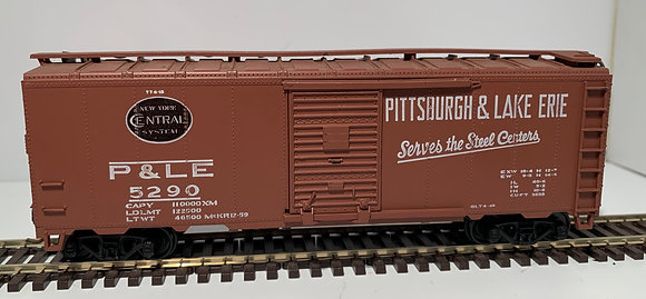 PITTSBURGH & LAKE ERIE - 40ft Steel Single Door Box Car - HO