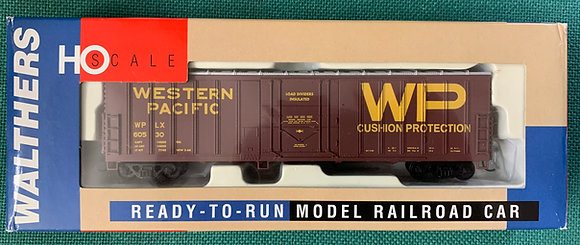 Western Pacific 50' Exterior Post Box Car - Walthers 932-3605  HO NIB