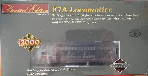 Southern Pacific 'Black Widow' EMD F7A & B - HO - Proto 2000  DCC + Sound