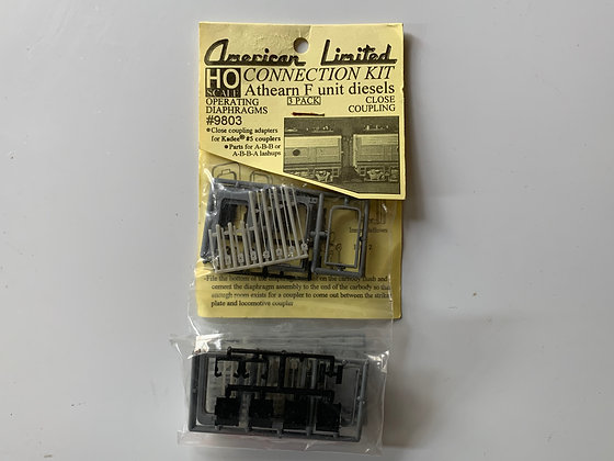 Connection Kit for Athearn F Units with operating diaphrams  - HO Parts