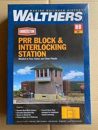 PPR Block & Interlocking Station - Walthers Cornerstone  933-2982