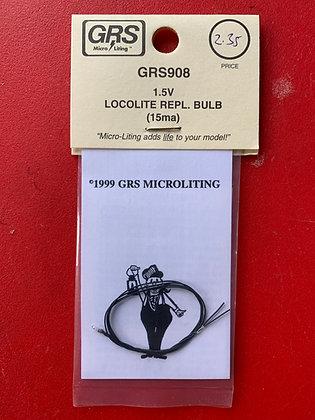 GRS Micro Lighting - 1.5V Locolite Repl.Bulb (15ma)  GRS 908