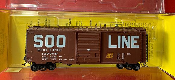 SOO Line PS-1 Box Car Kadee